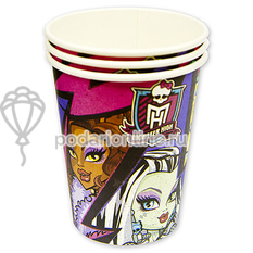 Стаканы Monster High